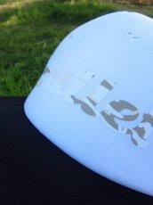 画像3: オリジナルプリント メッシュキャップ オリジナルロゴ ブラックホワイト・カモホワイトクリーム (3)