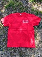 画像1: オリジナルプリント Tシャツ オリジナルロゴ レッド・ホワイト (1)