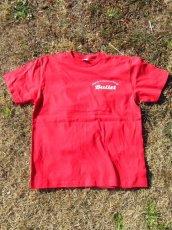画像3: オリジナルプリント Tシャツ オリジナルロゴ レッド・ホワイト (3)