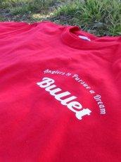 画像5: オリジナルプリント Tシャツ オリジナルロゴ レッド・ホワイト (5)