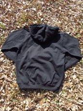 画像2: オリジナルプリント パーカー オリジナルロゴ ブラック・カモグリーン (2)