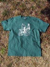 画像1: オリジナルプリント Tシャツ オリジナルブラックバス グリーン・ホワイト (1)