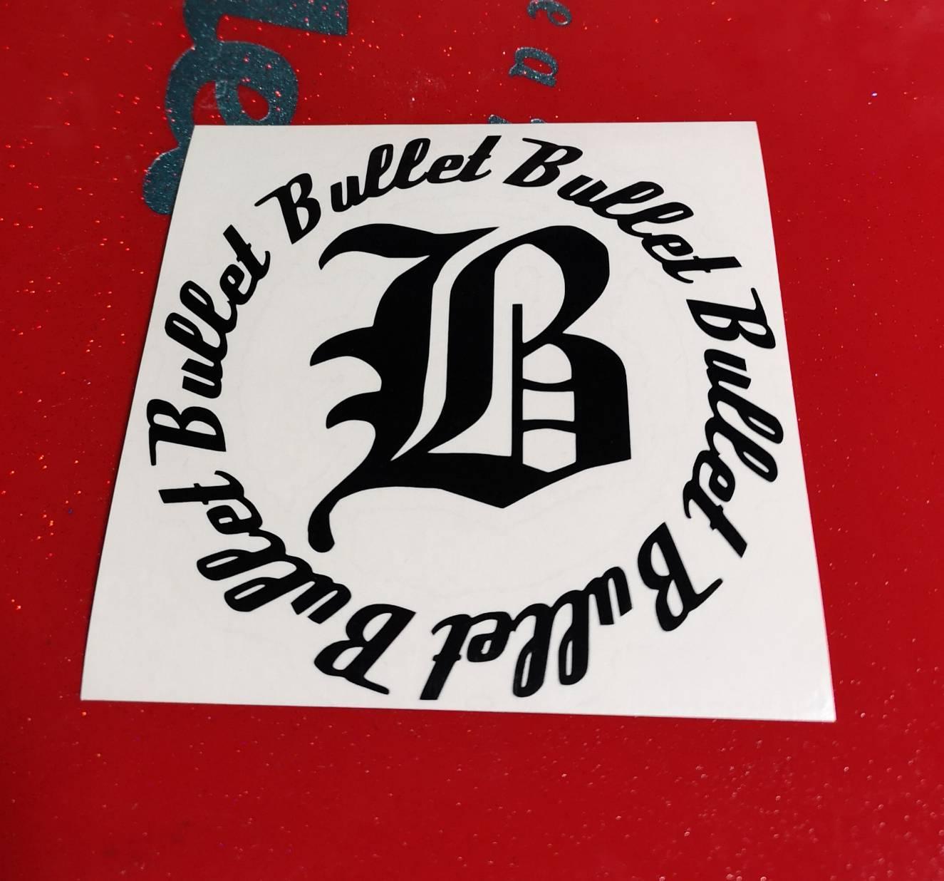 画像1: Bullet   ロゴステッカー (1)